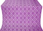Nikolaev silk (rayon brocade) (violet/silver)