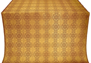 Czar-city metallic brocade (claret/gold)