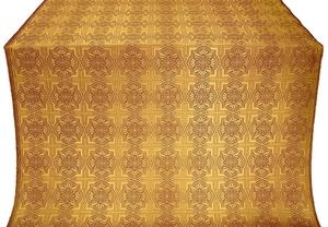 Czar-city metallic brocade (claret/gold)