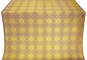 Czar-city metallic brocade (violet/gold)