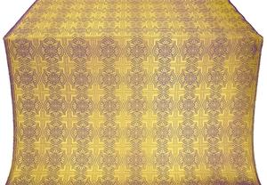 Czar-city metallic brocade (violet/gold)