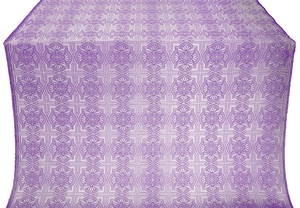 Czar-city metallic brocade (violet/silver)