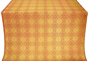 Czar-city metallic brocade (red/gold)