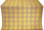 Czar-city silk (rayon brocade) (violet/gold)