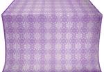 Czar-city silk (rayon brocade) (violet/silver)