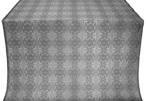 Czar-city silk (rayon brocade) (black/silver)