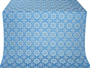 Vologda Posad metallic brocade (blue/silver)