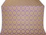 Vologda Posad metallic brocade (violet/gold)