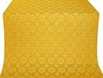 Vologda Posad silk (rayon brocade) (yellow/gold)
