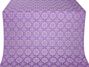 Vologda Posad silk (rayon brocade) (violet/silver)