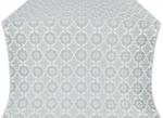 Vologda Posad silk (rayon brocade) (white/silver)