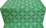 Alania silk (metallic brocade) (green/silver)