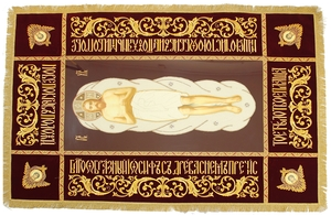 Embroidered shroud of Christ -12