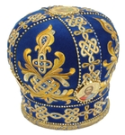 Embroidered mitre - 4047 (Size: 23.2'' (59 cm))