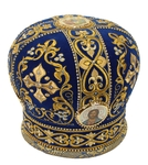 Embroidered mitre - 4048 (Size: 22.6'' (57.5 cm))