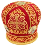 Embroidered mitre - 2934 (Size: 23.6'' (60 cm))