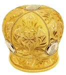 Embroidered mitre - 3686 (Size: 23.2'' (59 cm))