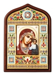 Religious icon no.19: the Most Holy Theotokos