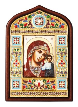 Religious icon no.19: the Most Holy Theotokos