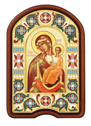 Religious icon no.2: the Most Holy Theotokos