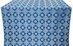 Bethlehem metallic brocade (blue/silver)