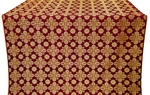 Bethlehem metallic brocade (claret/gold)