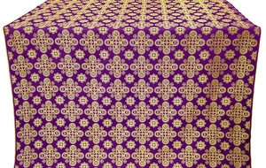 Bethlehem metallic brocade (violet/gold)