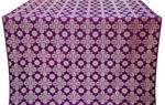 Bethlehem metallic brocade (violet/silver)