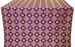 Bethlehem silk (rayon brocade) (violet/gold)