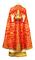 Greek Priest vestments - Christ the Archpriest - red (back)