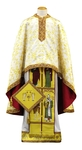Greek Priest vestments - Christ the Archpriest - white