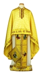 Greek Priest vestments - Christ on the Throne - gold