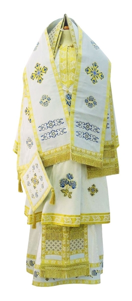 Bishop vestments - 2 (white-gold)