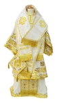 Bishop vestments - 4 (white-gold)