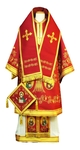 Bishop vestments - Apostle Tree red