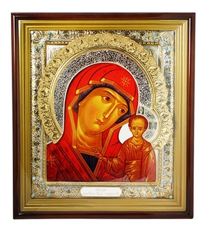 Wall icon A96 - the Mother of God of Kazan