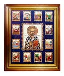 Wall icon A156 - St. Nicholas the Wonderworker