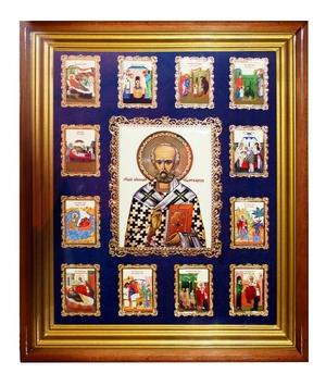 Wall icon A156 - St. Nicholas the Wonderworker