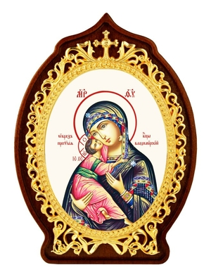 Table icon A2125 - the Mother of God of Vladimir