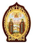 Table icon - Holy Right-Believeing Princes Peter and Thebroniya
