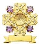 Reliquary no.339 (violet)
