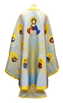 Greek Priest vestments - Apostle Tree (blue-gold)