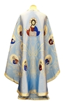 Greek Priest vestments - Apostle Tree (blue-silver)