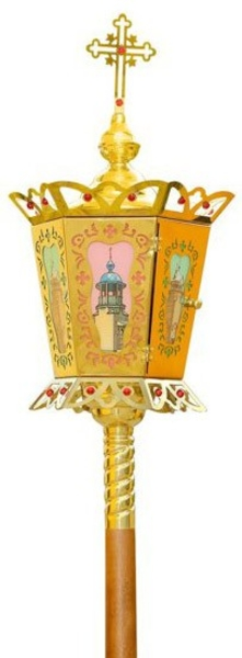 Paschal processional lamp no.539