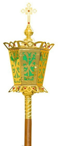 Paschal processional lamp no.539a