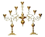 Table seven-branch candelabrum no.46