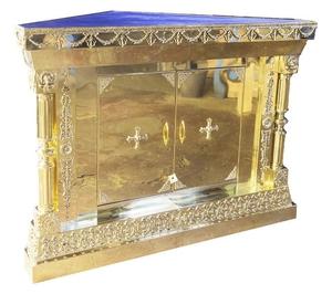 Corner oblation table