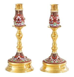 Table candle-stand no.13 (pair)