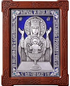 Icon of the Most Holy Theotokos the Unexausitble Cup - A101-3