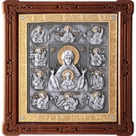Icon of the Most Holy Theotokos of the Sign - A121-6